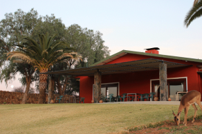 Auas Safari Lodge. Photo: Auas Safari Lodge