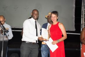 2016 Awards Gala function – Sindano Nekundi, Marketing Officer: FNB Business